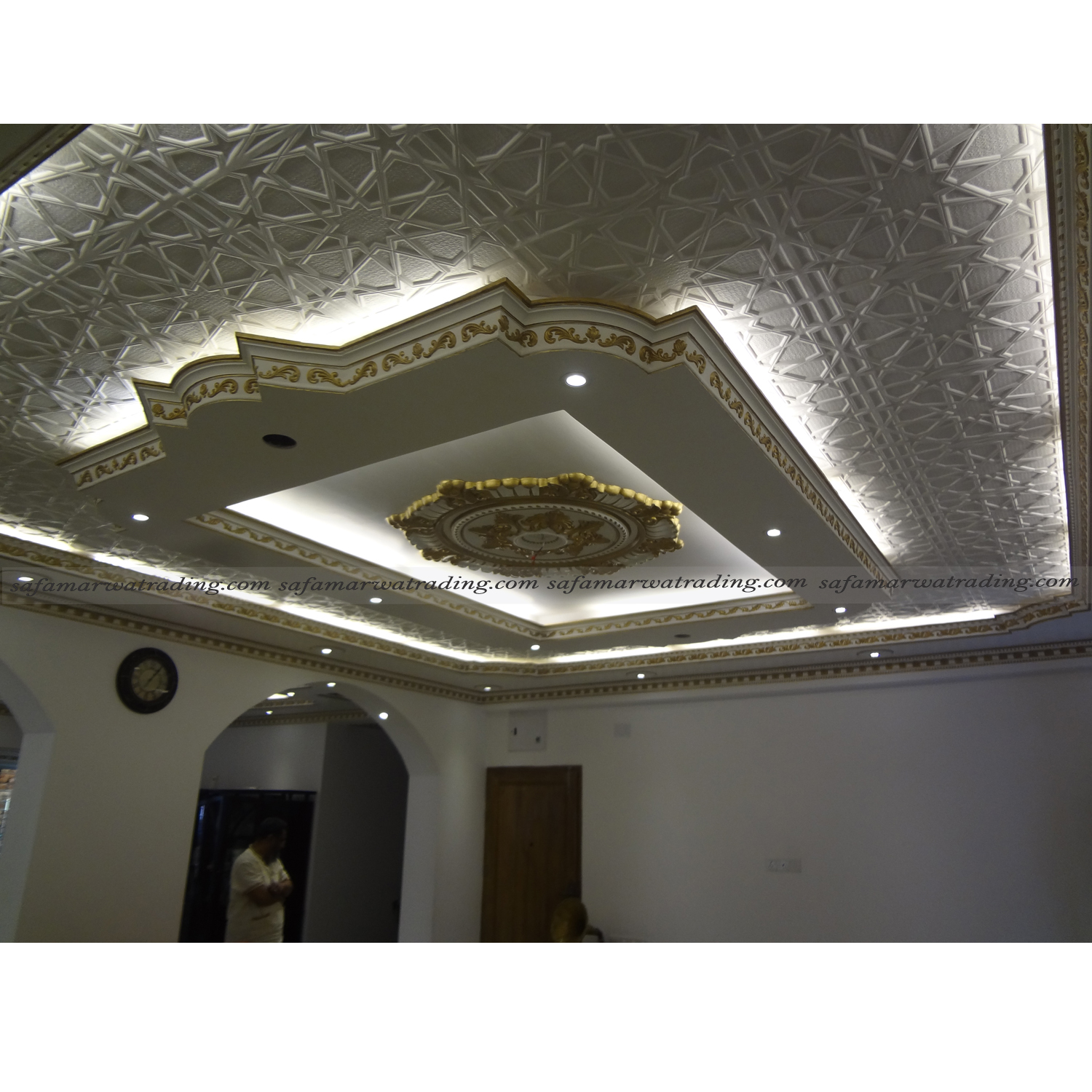DID DECORATIVE FALSE CEILING