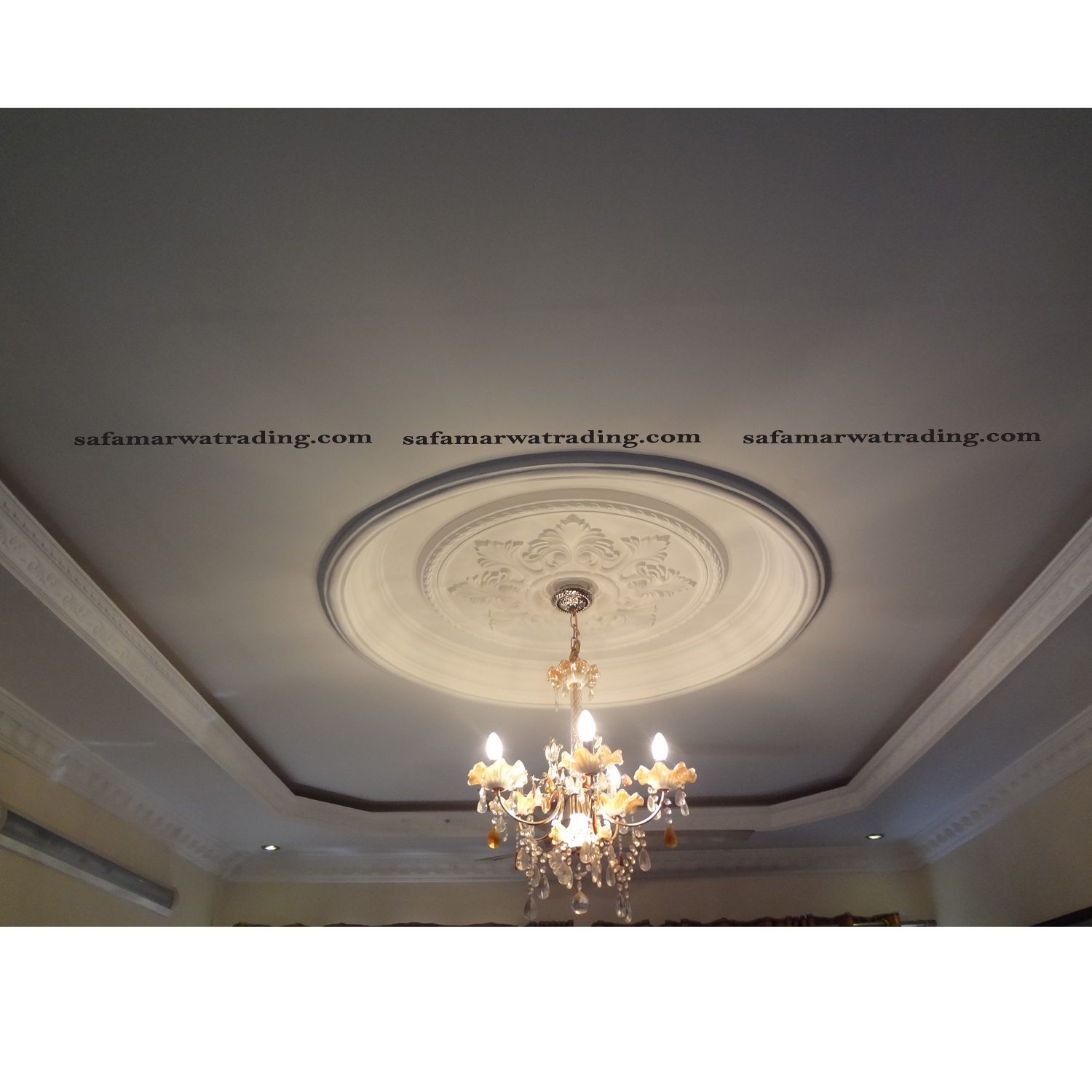 Round Ceiling Dome Style