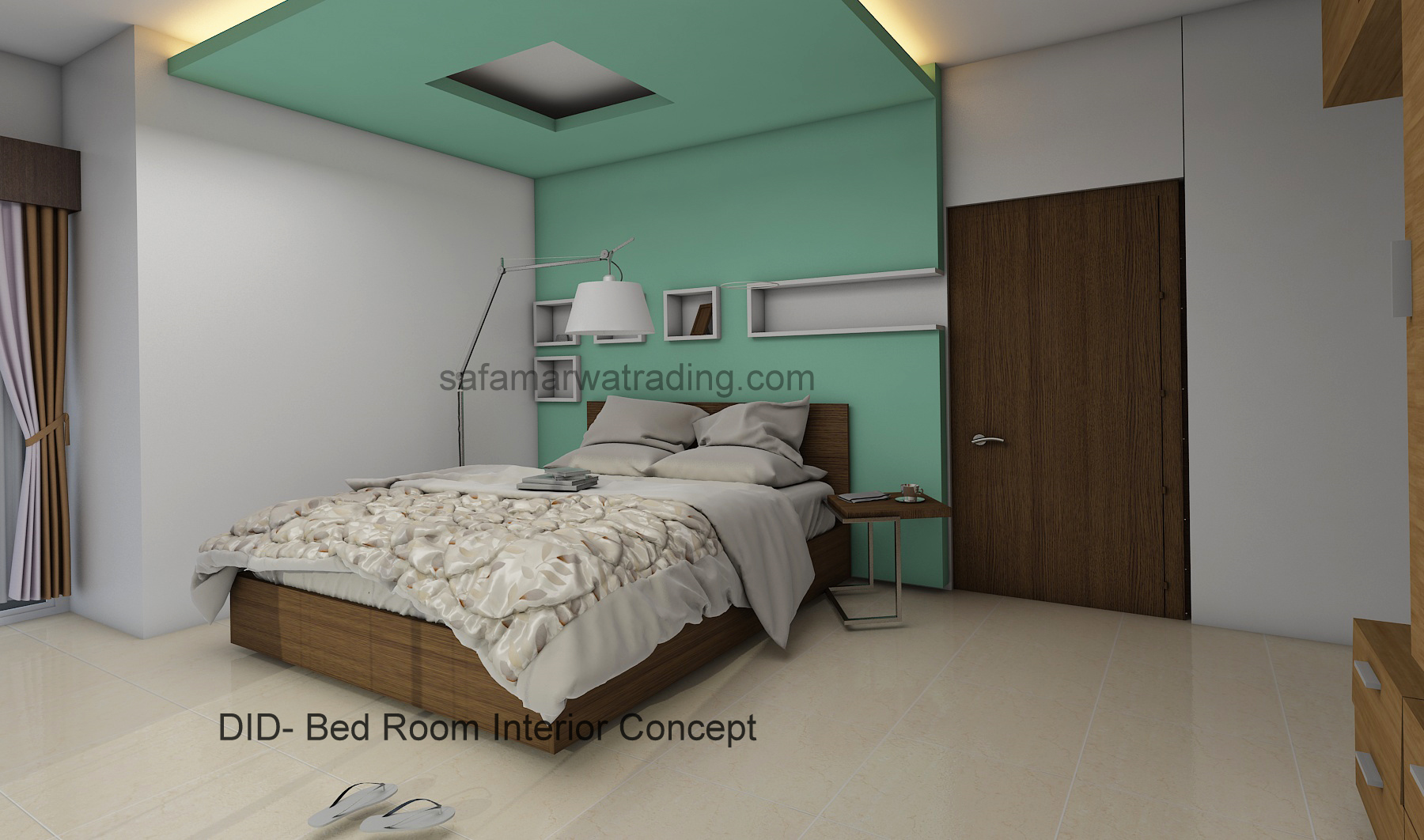 Bed Room Interior Concept