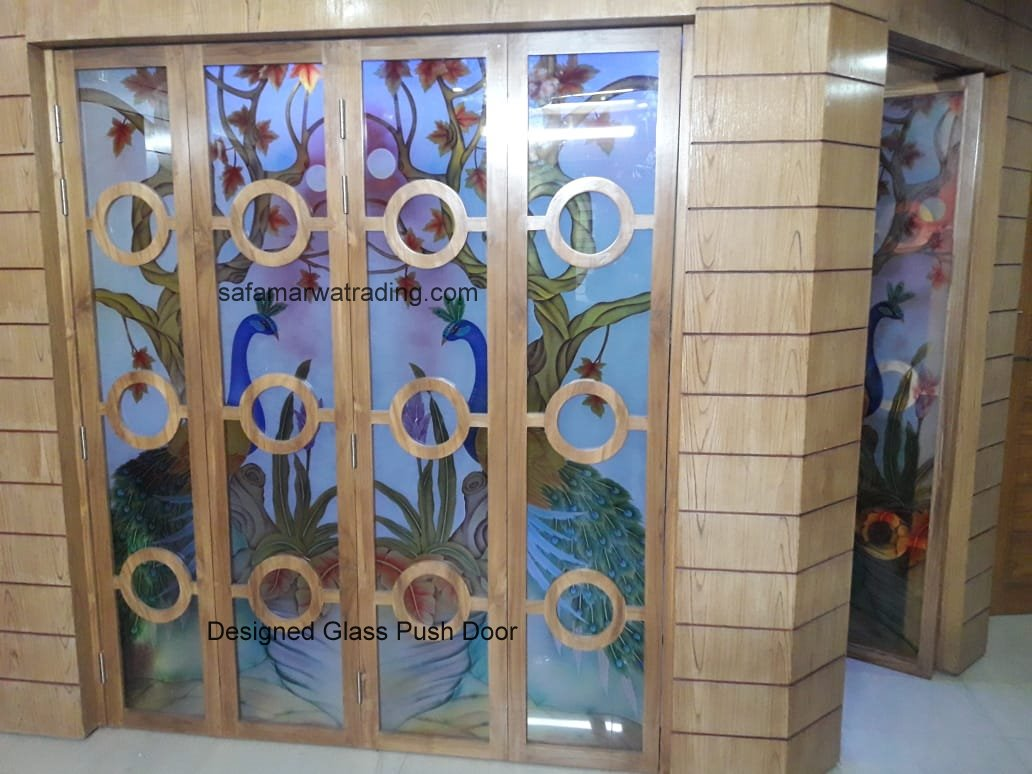 Design Glass Folding Door