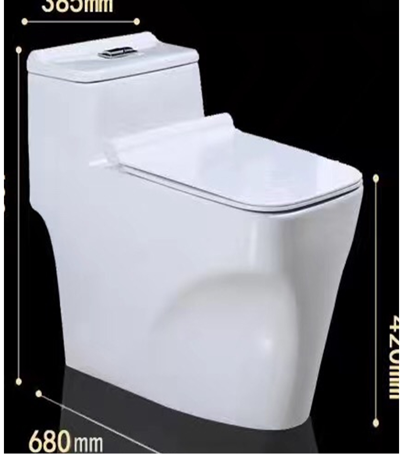 8059 One Piece Toilet